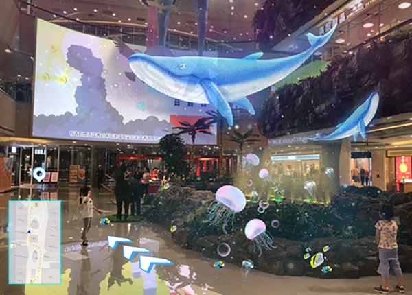 试衣app_AR导航|AR导览|视觉导航|智慧商业|旅游景区|室内外导航-视+AR